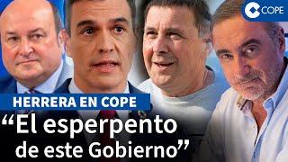"""Herrera: """"PNV y Bildu tienen al Gobierno de Sánchez cogido por..."""""""