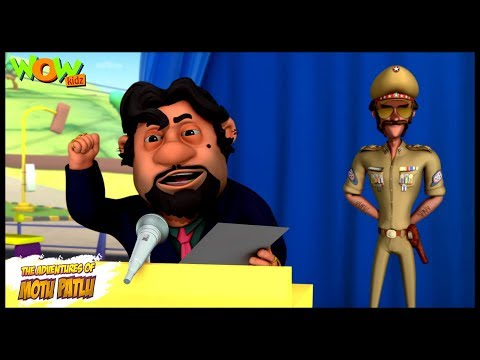 Mayor John - Motu Patlu in Hindi WITH ENGLISH, SPANISH & FRENCH SUBTITLES