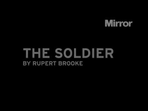 TINCHY STRYDER reads The Soldier - Rupert Brooke
