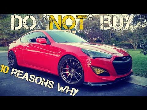Why To *NOT* Buy A Genesis Coupe ?