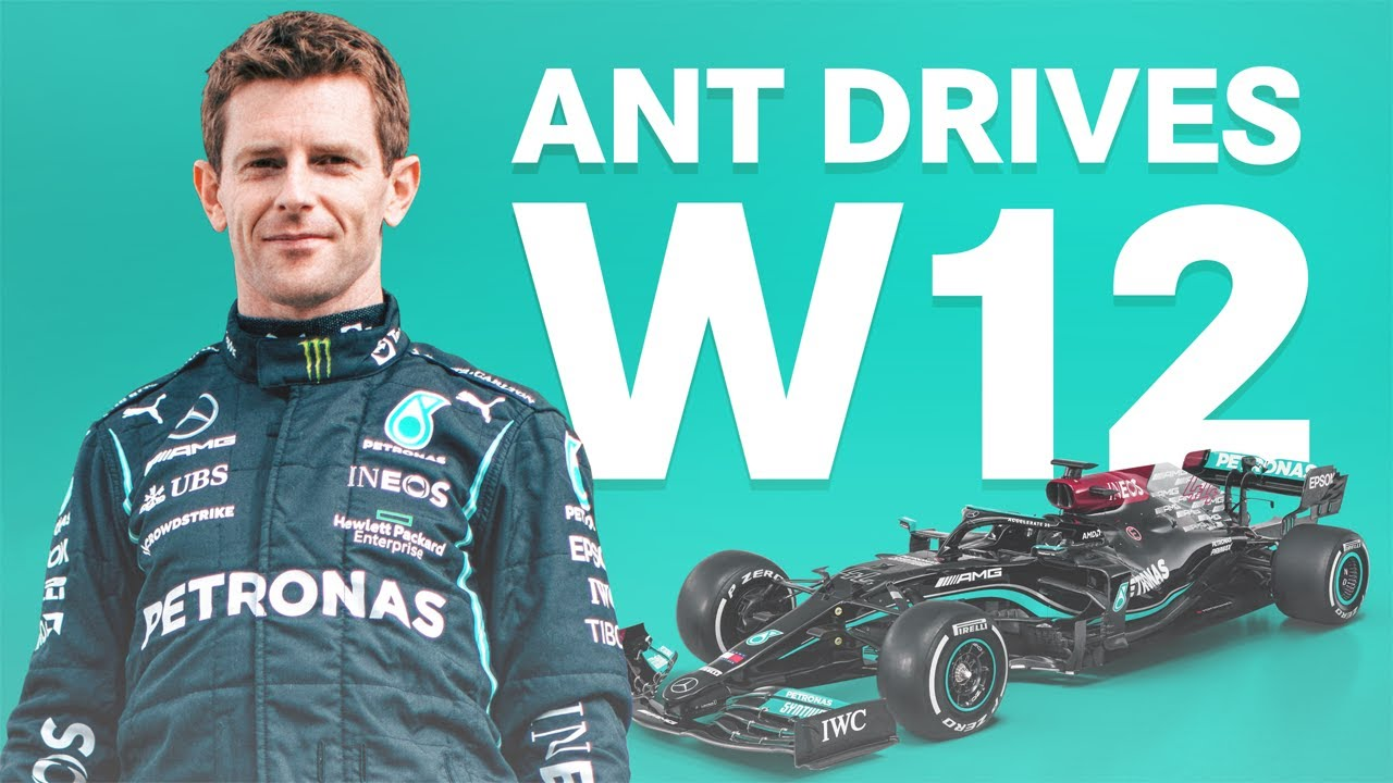 Ant Drives W12: Taking to the Track at Silverstone!
