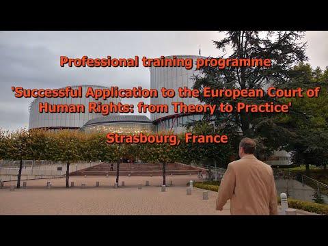 Strasbourg Legal education programme CECJ