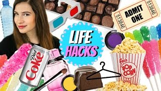LIFE HACKS All Girls Need To Know!!!