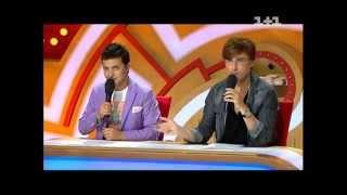 Рассмеши комика. Россия. сезон 2. выпуск №1. от 26.01.2013