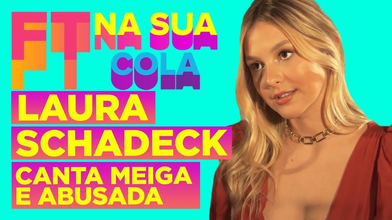 """Um dia inteiro com LAURA SCHADECK! Tudo que rolou nos BASTIDORES do lançamento de """"MEIGA E ABUSADA""""!"""