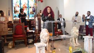 Evangelist Lillian Lloyd - May 17, 2015