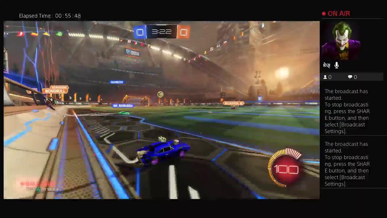 KUSHTALK972's Live PS4 Rocket League