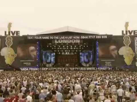 R.E.M. Live 8 concert, Hyde Park, London, 2 July 2005