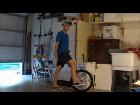 The basics of riding a unicycle part 1
