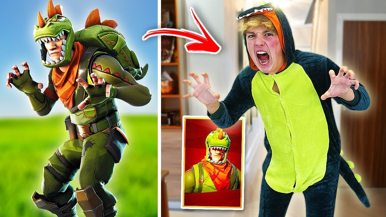 Best Fortnite Skins In Real Life Challenge Fortnite Skins In Real