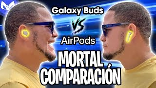 AirPods 2 Vs Galaxy Buds CUAL COMPRAR ? $130 vs $200 REAL