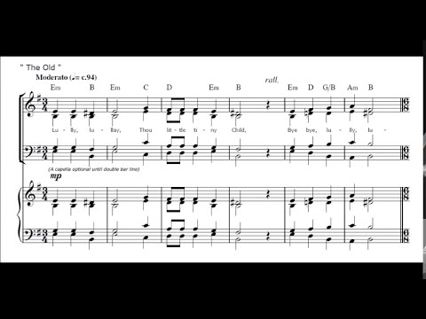A Coventry Carol - Old and New (Chris Lawry) SATB with Soloist
