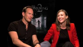 Vera Farmiga & Patrick Wilson Conjuring 2 Interview