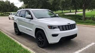 NEW CAR TOUR || 2018 Jeep Grand Cherokee Altitude