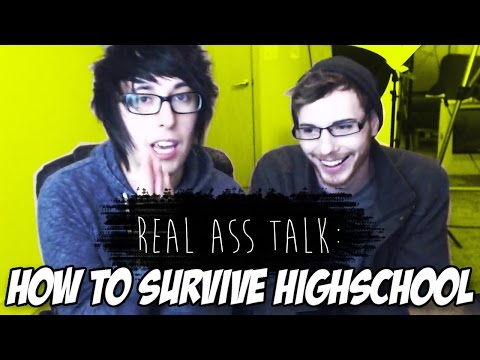 How to Survive Highschool! (w/Ahoynateo!) [Real Ass Talk]
