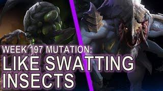 Starcraft II: Like Swatting Insects [1 Base]