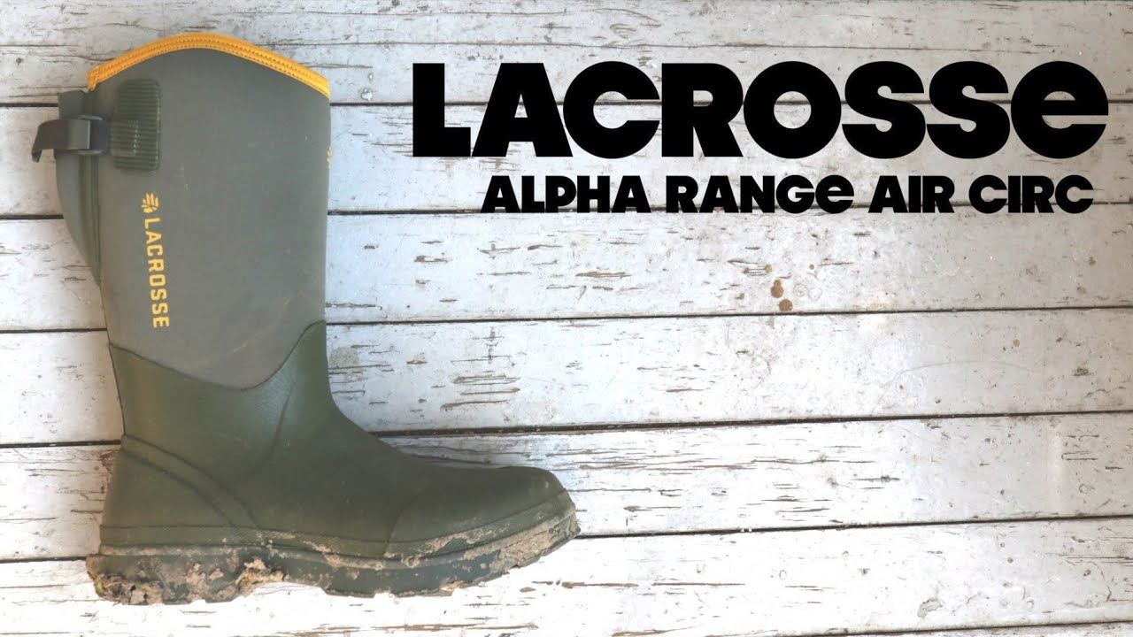 fcb292fb LaCrosse ALPHA RANGE AIR CIRC | Summer Rubber Boot | The Boot Guy Reviews