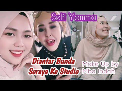 SELFI YAMMA_Di Rias Mba Indah Jelang Result Show Top 12 Grup Tiga