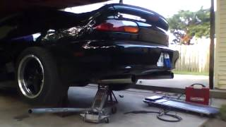 98 6.0L Z28 with flowmaster 40 series 2 chamber with custom tail pipes