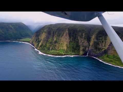 Kalapana Lava and Waimanu Valley - Aloha Skies Aviation