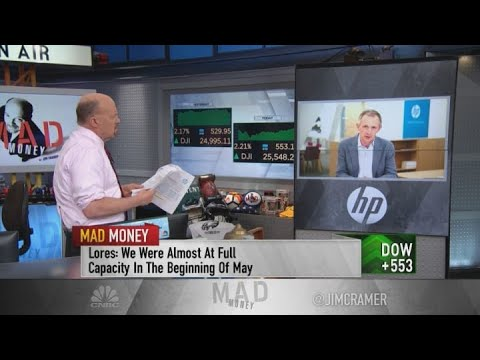 HP CEO Talks Subscription Business And Buying Back Stock