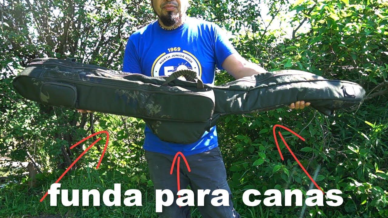 funda para Mis caña de Pesca , Mochila para caña de PESCAR!! , fishing rod holder