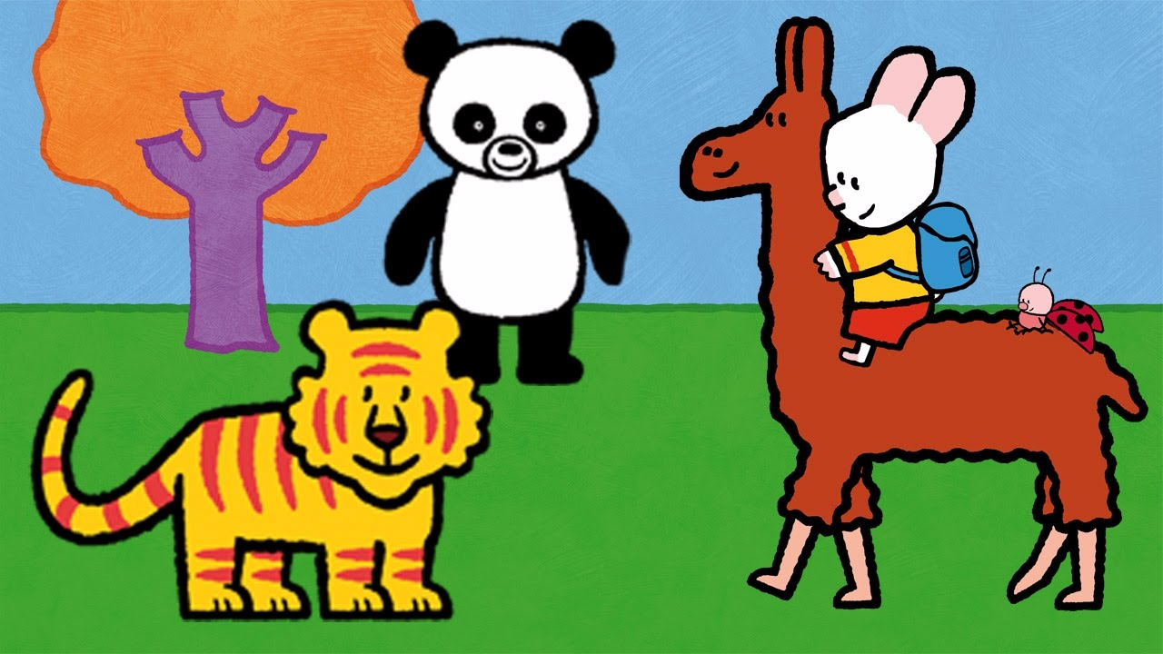 Didou Dessine Moi Un Panda Un Tigre Et Un Lama Apprendre A