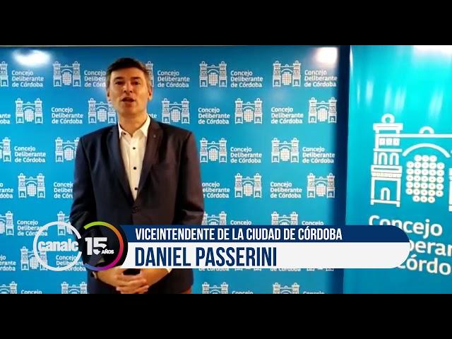 Canal C 15 años: Daniel Passerini, viceintendente de la ciudad de Córdoba