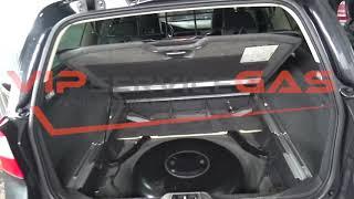 Газобаллонная установка на Volvo XC70 3.2
