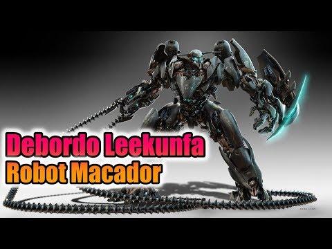 débordo leekunfa robot macador