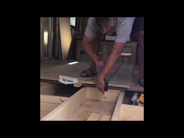 RV Trailer Build #15 - Wall Blocking. Flooring, Readying For Spray Foaming Walls