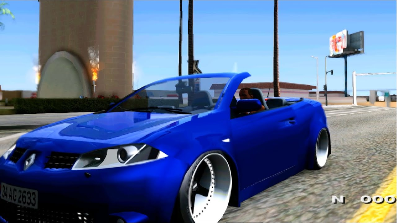 2008 renault megane ii cc tuning gta mod youtube. Black Bedroom Furniture Sets. Home Design Ideas