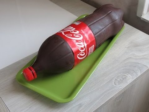 How To Make Coca Cola Bottle Cake