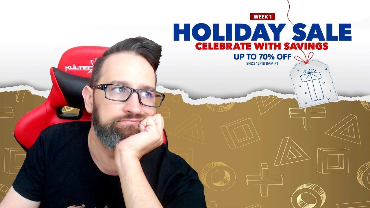Primer semana de ofertas Navideñas en PS Store Diciembre 11, 2018