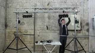 Aufbau Lichtanlage Klein (ohne Ton)