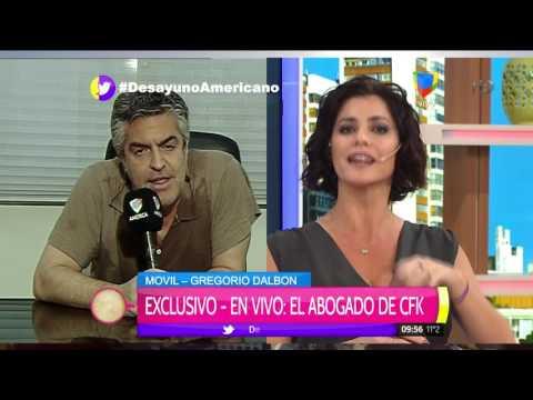 Tensión en vivo: Fuerte cruce entre Pamela y Novaresio con el abogado de Cristina