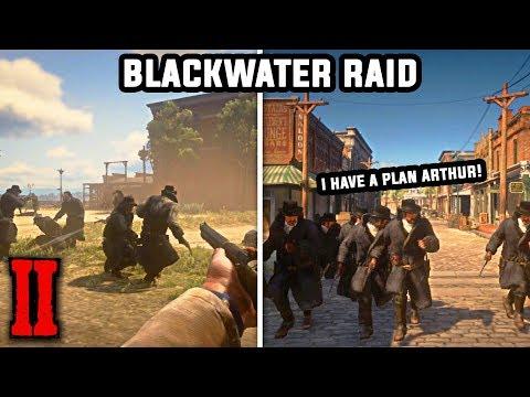 Arthur & Unlimited Dutch Raids Blackwater - Red Dead Redemption 2