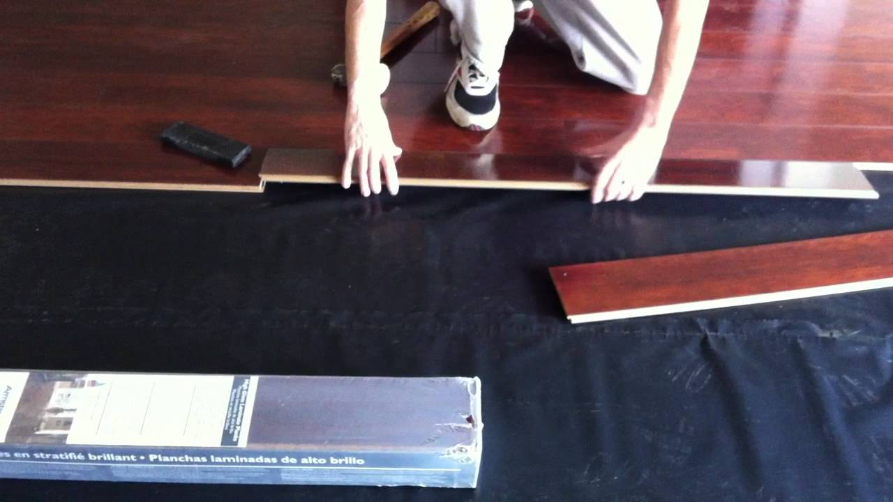 Good Installing Armstrong Laminate Flooring Part 3 How To Install Armstrong High Gloss Laminate