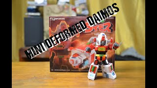 The Toy Cabinet Episode 2: Action Toys Mini Deformed Daimos