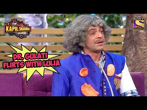Dr. Gulati Flirts With Lulia - The Kapil Sharma Show
