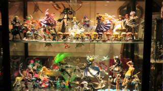 """Finaly a """"complete"""" showcase of my personal Anime Figures Collection that is still growing :) フェイト/ステイナイト, 怪物王女, うる星やつら, 犬夜叉, らんま1/2,..."""