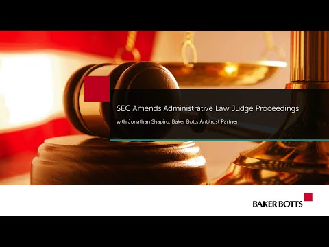 SEC Amends Administrative Law Judge Proceedings