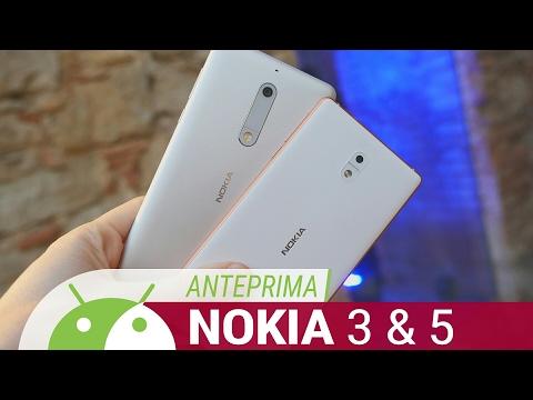 Nokia 3 e Nokia 5 anteprima ITA da TuttoAndroid | MWC 2017