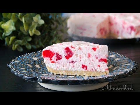 Strawbry jelly cream pudding