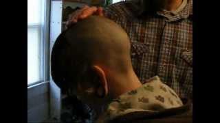 head tattoo hair cut