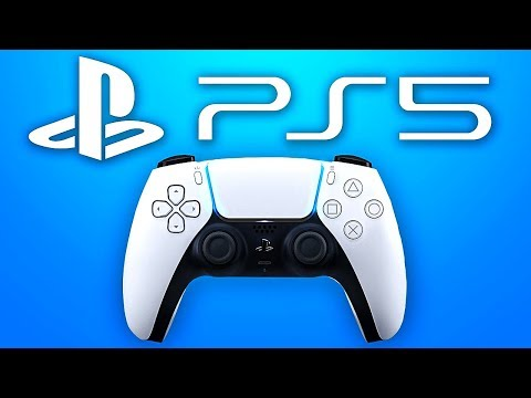 """OFFICIAL PLAYSTATION 5 CONTROLLER REVEAL: NEW """"DUALSENSE"""" PS5 Controller! (PS5 News)"""