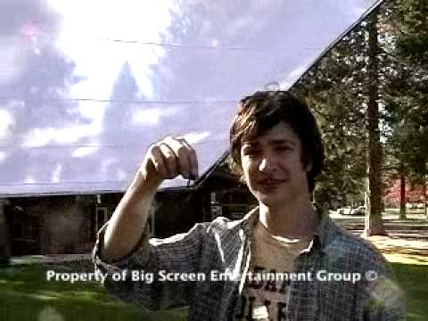 On the Set of Babysitter Wanted...Matt Dallas from Big Screen Entertainment Group Stock: BSEG