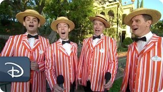Dapper Dans Sing Spooky Songs | Halloween Time at Disneyland Park