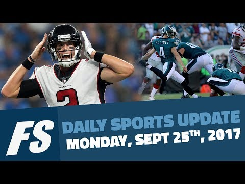 Fansided's Daily Sports Update For Monday, September 25th, 2017