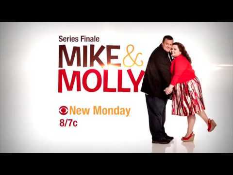 MIKE & MOLLY 6x12 CURSE OF THE BAMBINO  6x13 I SEE LOVE   SERIES FINALE
